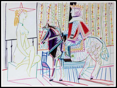 Litografía Picasso (After) - DESSINS DE VALLAURIS VI