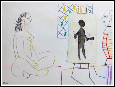 Litografía Picasso (After) - DESSINS DE VALLAURIS X