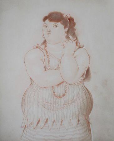 Litografía Botero - Dessins et Aquarelles (2)
