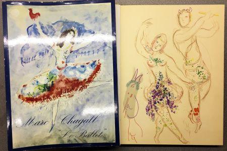 Litografía Chagall - DESSINS ET AQUARELLES POUR LE BALLET