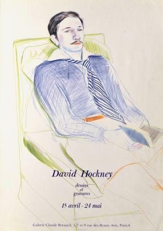 Sin Técnico Hockney -  Dessins et Gravures