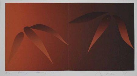 Serigrafía Inoue - Deux bambous