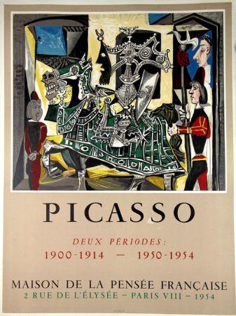 Litografía Picasso - Deux Periodes 1900-1914 , 1950-1954