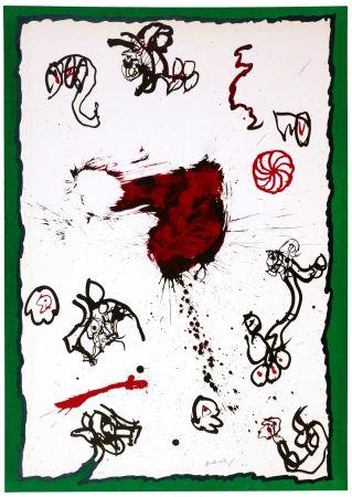 Litografía Alechinsky - Deuxième