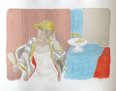 Litografía Brianchon - Devant le miroir