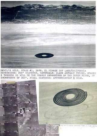 Litografía Oppenheim - Devil's Hole