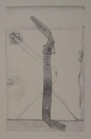 "Litografía Thomkins - ""devise"""