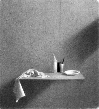 Litografía Ferroni - Diagonale d'ombra