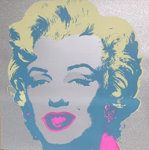 Serigrafía Warhol - Diamond Marilyn (By Sunday B. Morning)