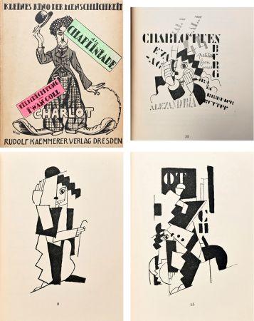 Libro Ilustrado Leger - DIE CHAPLINIADE (Filmdictung von Iwan Goll) 1920..