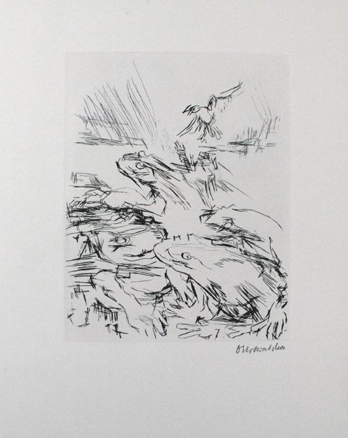 Punta Seca Kokoschka - Die Frösche / The Frogs