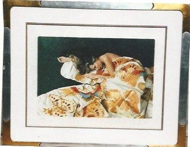 Serigrafía Hundertwasser - Die funfte Augenwaage