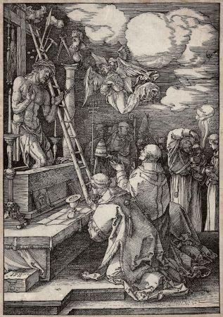 Grabado En Madera Durer - Die Messe des heiligen Gregor (The mass of St. Gregory)