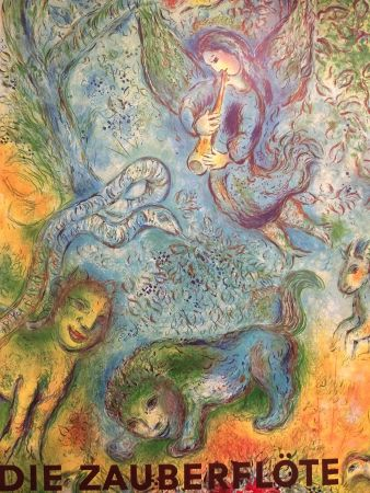 Cartel Chagall (After) - Die Zaubrrflote