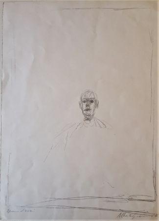 Litografía Giacometti - Diego