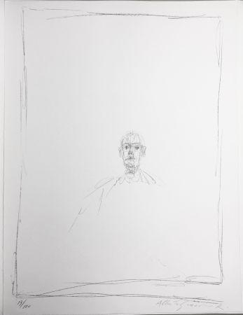 Litografía Giacometti - DIEGO. Lithographie originale signée. 1963
