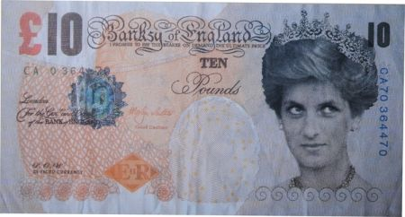 Offset Banksy - Difaced Tenner