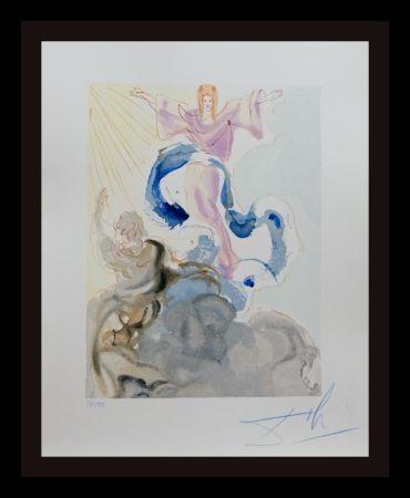 Grabado En Madera Dali - Divine Comedy Heaven Canto 3