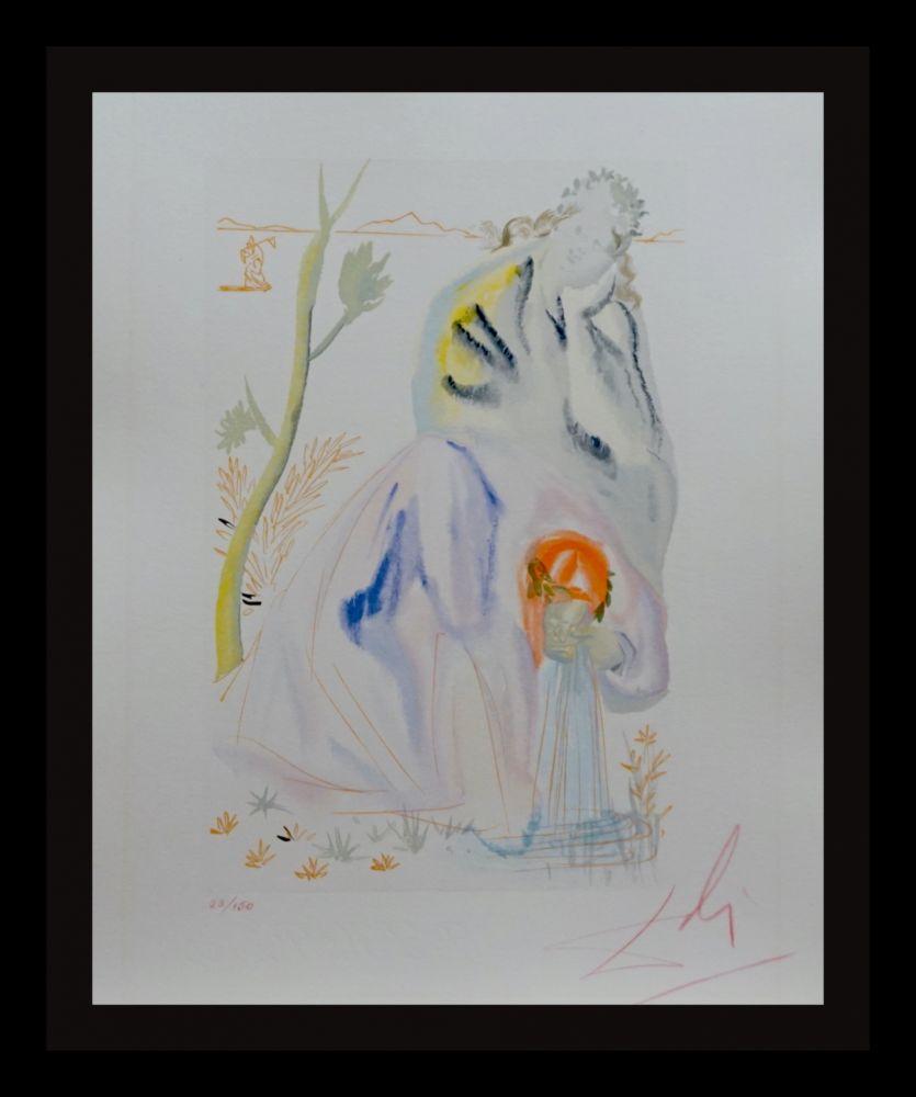 Grabado En Madera Dali - Divine Comedy Purgatory Canto 22