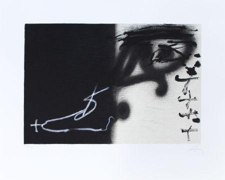 Litografía Tapies - Divise