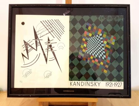 Litografía Kandinsky - Dlm 118