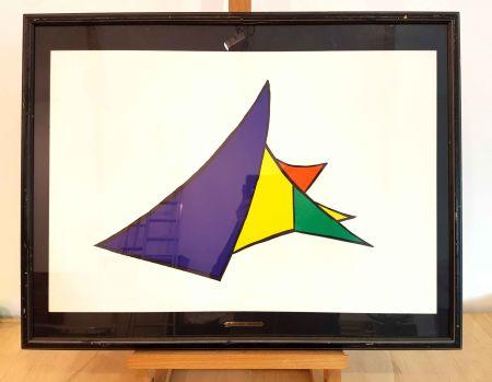 Litografía Calder - Dlm 141-4