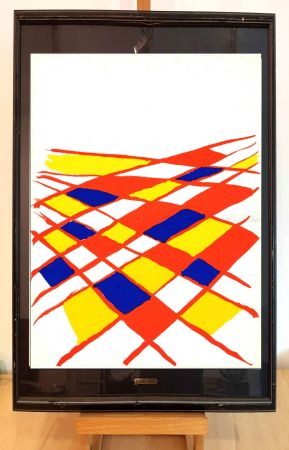 Litografía Calder - Dlm 190-2