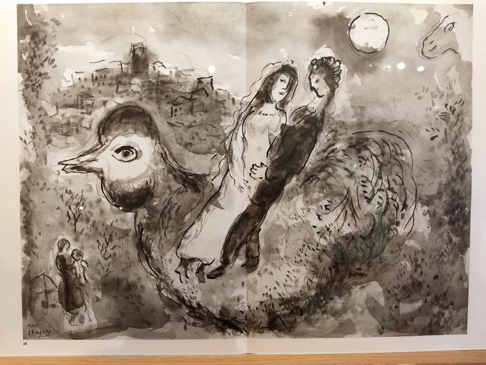 Libro Ilustrado Chagall - DLM 225