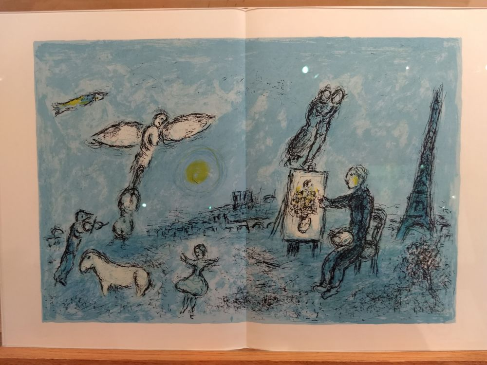 Libro Ilustrado Chagall - DLM 246