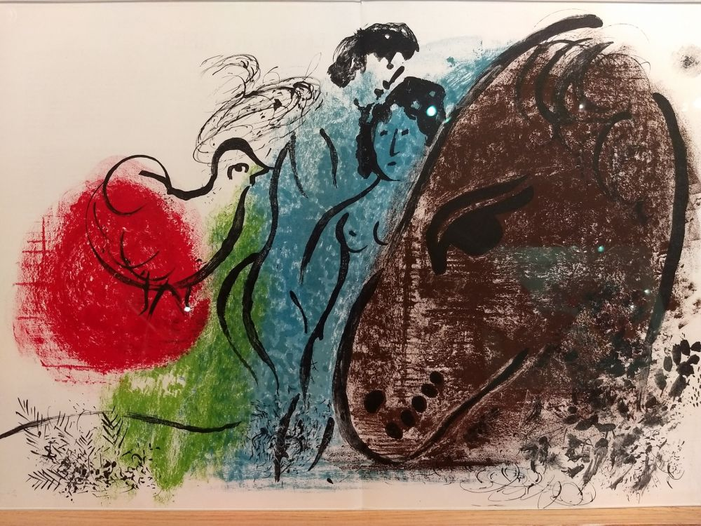 Libro Ilustrado Chagall - DLM 44 45