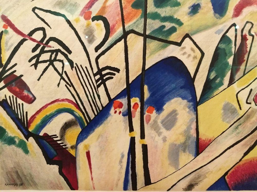 Libro Ilustrado Kandinsky - DLM 77-78
