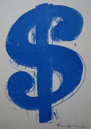 Serigrafía Warhol (After) - Dollar Sign