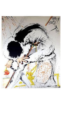 Litografía Dali - Don Quichotte