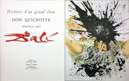 Libro Ilustrado Dali - DON QUICHOTTE À LA TÊTE QUI ÉCLATE (1957). Histoire d'un grand livre.