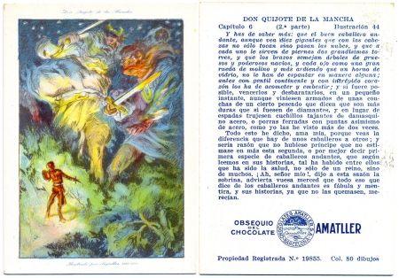 Litografía Segrelles - Don Quijote