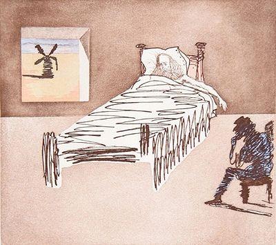 Grabado Dali - Don Quijote - le legacy