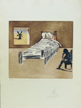 Aguafuerte Y Aguatinta Dali - Don Quixote Man of La Mancha - Le Legacy