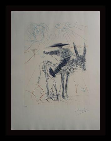 Grabado Dali - Don Quixote & Sancho Panza Sancho Panza