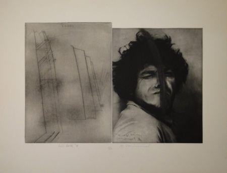 Grabado Rainer - Doppelporträt oder Stirnspalt