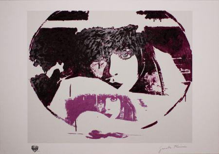 Serigrafía Fioroni - Doppio Liberty Violet