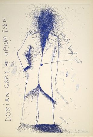 Litografía Dine - Dorian Gray, Opium