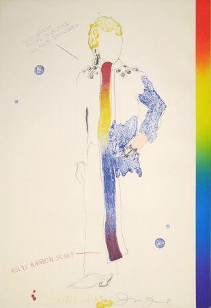 Litografía Dine - Dorian Gray, Rainbow