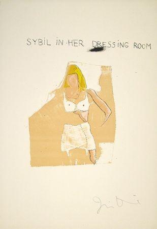 Litografía Dine - Dorian Gray, Sybil