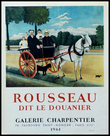 Cartel Rousseau - DOUANIER ROUSSEAU GALERIE CHARPENTIER ROUSSEAU DIT LE DOUANIER