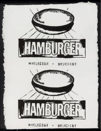 Múltiple Warhol - Double Hamburger