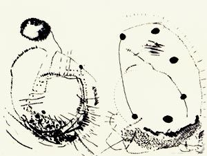Litografía Brown - Double shape