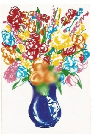 Litografía Koons - DOW-Flowers
