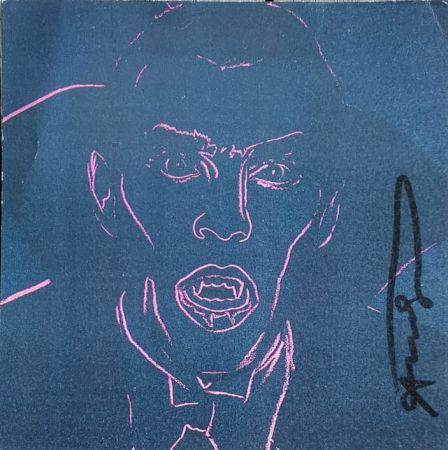 Serigrafía Warhol - Dracula