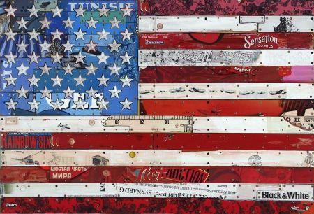 Múltiple Liot - Drapeau américain