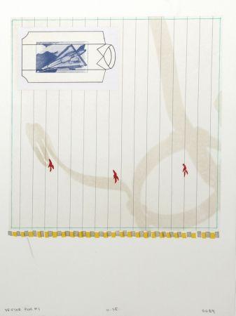 Litografía Goldberg - Drifter Plus #1
